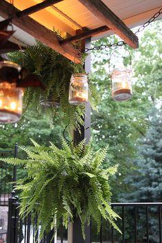 DIY Pottery Barn Inspired Ladder Lantern by Unskinny Boppy