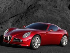 Alfa Romeo 8c Competizione.. love these, plus it IS named after me.. ;)
