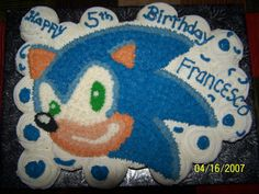 Image detail for -Sonic Hedgehog Cupcakes