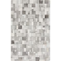 $1415 Hand-Crafted Phillip Check Hair On Hide Rug (8' x 10') - Free Shipping Today - Overstock.com - 17081094 - Mobile