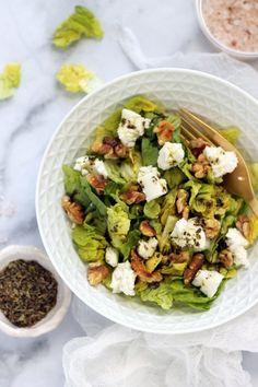 Krétai saláta recept