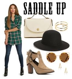 """Saddle Up"" by windsorstore ❤ liked on Polyvore"