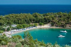 Aliki Thassos island Thasos, Greece Islands, Beautiful Places In The World, Where The Heart Is, Travel With Kids, Travel Destinations, To Go, Greek, Around The Worlds