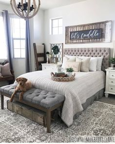 Read on streamlined cozy bedroom decor Farmhouse Bedroom Decor, Cozy Bedroom, Dream Bedroom, Bedroom Ideas, Master Bedroom Furniture Ideas, Guest Bedroom Decor, Guest Bedrooms, My New Room, Beautiful Bedrooms