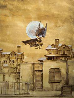 Batman by Daniel Grzeszkiewicz