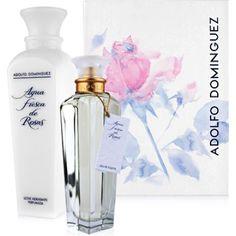 fragancias mujer,  Estuche de colonia Agua fresca de Rosas vaporizador 200 ml. + body milk 500 ml.