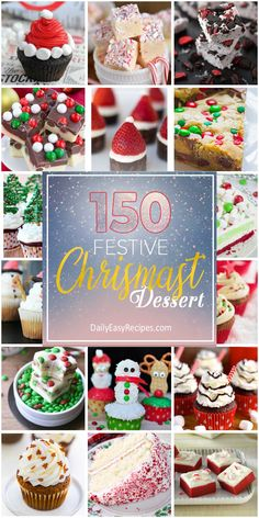 Tis the season for some sweets desserts! As another year is coming to an end, enjoy your festive Christmas enthusiastically before spring arrives.In this article, there are over a hundred recipes for dessert, ranging from cookies, brownies to ice-cre Christmas Sweets, Christmas Cooking, Christmas Christmas, Christmas Foods, Xmas, Holiday Treats, Holiday Recipes, Christmas Recipes, Candy Recipes