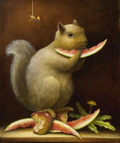 "Animalia | Kevin Sloan | ""The Picnic"" 