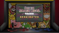 Over the past year, more than 30 animators remade the intro to Super Smash Bros Melee, each bringing they own unique take on some of the most beloved charact. Super Smash Bros Melee, Freaking Awesome, Video Game Art, Arcade Games, Nintendo, The Past, Cartoon, Law, Advertising