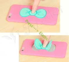 Cute-Bow-knot-Stand-Rubber-Soft-Case-Cover-For-Samsung-G530-S6-A7-iPhone-4-5-S-6
