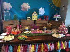 Peppa PIG Party Backdrop | eBay