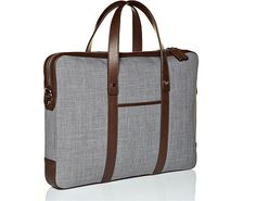 Grey Portfolio Bag  by Suitsupply