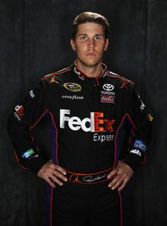 Denny Hamlin ~ Best driver.... and Yes I love (and want) him.... hehehe   ♥ ❤♥ ❤