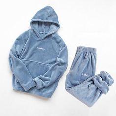 Flannel Pajama Set Thick Velvet Sleepwear – Speak Fleece Pajamas, Flannel Pajamas, Silk Pajamas, Sleepwear Women, Loungewear, Pijamas Women, Pajama Suit, Womens Pyjama Sets, Polyester Material