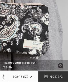 Odd Molly itinerary small beauty bag