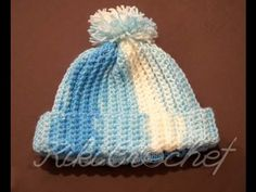 Πλεκτο Ευκολο Σκουφακι/ Crochet Ribbed Hat Tutorial