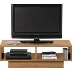 Buy Argos Home Cubes TV Unit - Oak Effect at Argos. Tv Entertainment Units, Tv Units, Media Storage, Argos, Home Living Room, Habitats, Small Spaces, New Homes, Entertaining