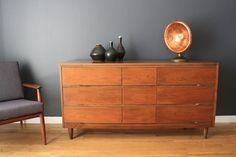 How I plan to use the mid century modern dresser I pulled from my patents trash.