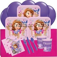 Sofia the First Classic Party Pack