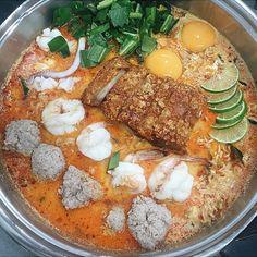 มาม่าต้มยำ - อาหารไทยทั่วไป - เจ๊โอว ข้าวต้มเป็ด - รองเมือง - กรุงเทพและปริมลฑล
