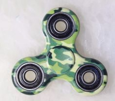 Fidget Hand Spinner Army Camo Color Camouflage ADHD Girls Boys Cool Game Toy    #camouflagefidget #handspinner #fidget