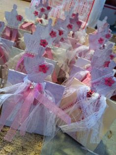Shabby Chic party favors