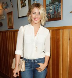 Shop Like a Celebrity — For Under $100: Julianne Hough used this Stella & Dot rebel pendant necklace ($79) to amp up her white blouse and jeans at a luncheon in LA.