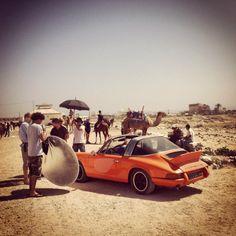Behind the Scene shoot