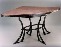 Lipscomb Table - copper top