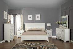 Juararo Bedroom Set #B251 ASH | Bedrooms, Queen bedroom sets and ...