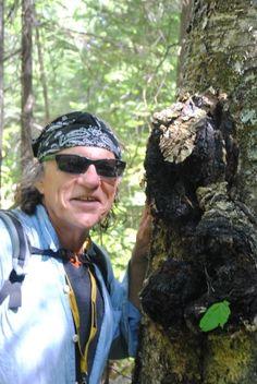 Backroads Bill with chaga fungus