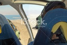 Papillon Grand Canyon tour helicopter Royalty Free Stock Photo