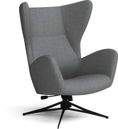 The Sion Swivel Chair, Qual by Bolia is made of wool, with a army melange finish and a black lacquered steel frame. Designed by Glismand & Rüdiger, this beautiful armchair is the perfect compliment to a minimalist living room. Two Couches, Nordic Home, Nordic Design, Backrest Pillow, Danish Design, Swivel Chair, Scandinavian Design, House Colors, Furniture Decor