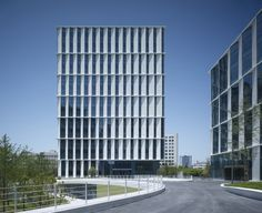 Image 5 of 12 from gallery of 3Cubes Office Building / gmp Architekten. Photograph by Christian Gahl
