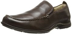 Hush Puppies Men's GT Slip-On Loafer, Dark Brown Leather, 8 XW US