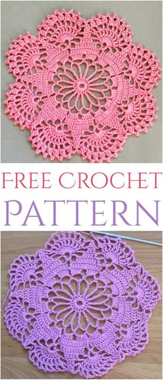Free Crochet Doily Patterns,Easy To Make Doily Free Crochet PatternYou can find Crochet doilies and more on our website.Free Crochet Doily Patterns,Easy To Make Doily Free Crochet Pattern Free Crochet Doily Patterns, Crochet Doily Diagram, Crochet Motifs, Crochet Designs, Thread Crochet, Free Pattern, Crochet Crafts, Crochet Projects, Crochet Dreamcatcher Pattern Free