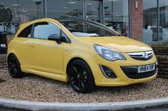 Used 2014 (64 reg) Yellow Vauxhall Corsa 1.2 Limited Edition 3dr for sale on RAC Cars