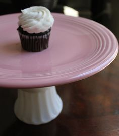Cupcake Stand / Vintage Cake Stand / Cupcake by TheRocheStudio, $75.00