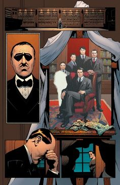 Because there is nothing worse thing than having Alfred Pennyworth cry, ok? Nothing.