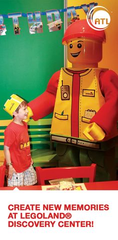 Build the best birthday ever at LEGOLAND® Discovery Center Atlanta.