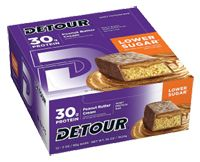 Detour Lower Sugar Peanut Butter Cream Bar by Detour - Buy Detour Lower Sugar Peanut Butter Cream Bar 12 Bars at the Vitamin Shoppe