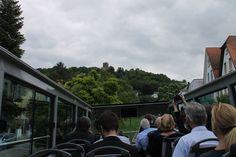 Beste Sicht auf den Turmberg vom oberen Stock des Busses