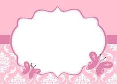 Resultado de imagem para cartões online chá de bebê com borboleta