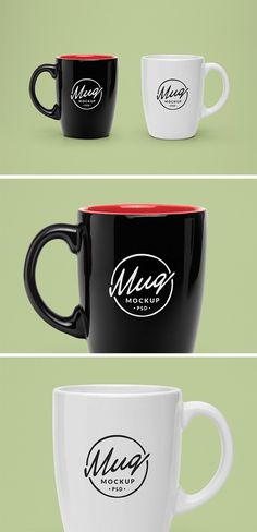 Today's special is a realistic PSD mock-up of a classic coffee mug that will allow you to present a logo or typography...