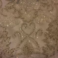 Vintage 1920 s Style Debut Ivory Beaded Dress UK12 £250 Jenny Packham Inspired
