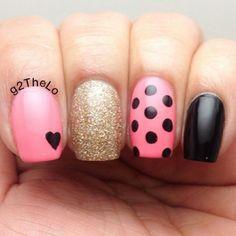 Nail DIY idea. By @persiannailart #nailideas #nail #nailart #nailpolish #nailhowto #nailtutorial #nailartdesign #pretty #tutorial #tutorials #instructions #instruction #nailswag #nailartjunkie #cool #polish #nailvideos #nailartvideos #nailsart #nailpictorial #nailarts #cutepolish #nailartwow #nailartaddict #tutoriales #diyfashion #diynails #manicure #stepbystep #pictorial