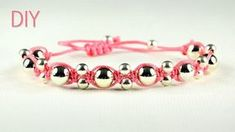 Two Easy Alternating Bead Macrame Bracelet Tutoria...
