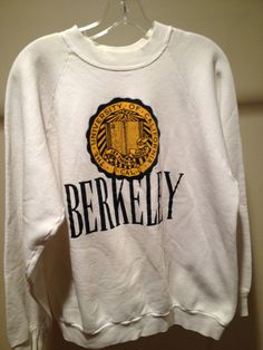 Vintage UC Berkeley Sweatshirt by 21Vintage on Etsy, $34.50