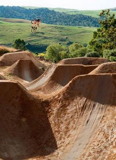 Riding these would be awesome!