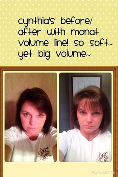 For more volume, manageability,hair growth, hair density~ check out~ www.monattexas.mymonat.com